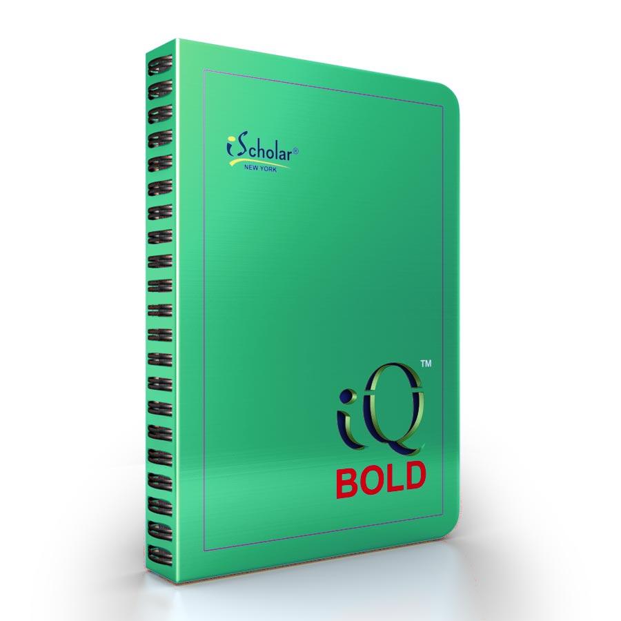 iQ BOLD Executive Hidden Wire 9″ x 7″ Desk Notebook 50790 | iScholar NY